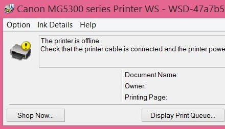How to Fix an Offline Printer that is Not Printing