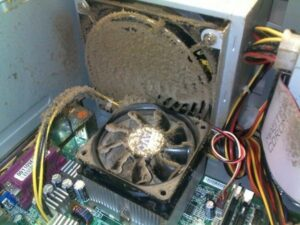 dirty cpu fan