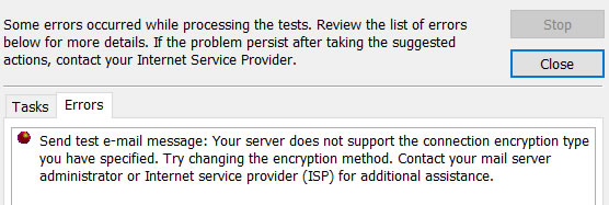 comcast xfinity email outbound fail