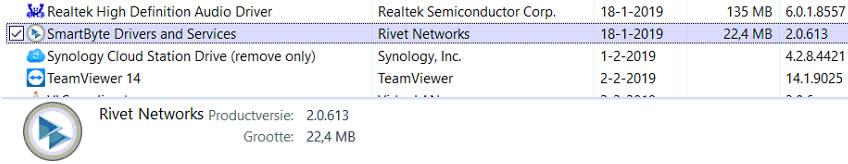 smart byte from rivet networks slow internet