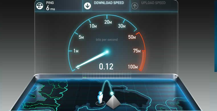 slow internet speed dell pc
