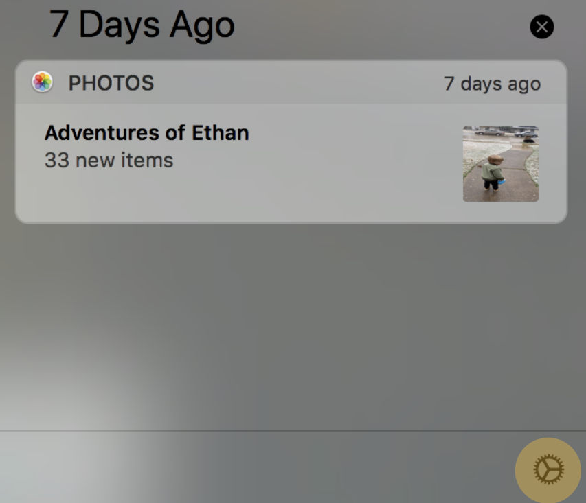 System Preferences Access from Notifications on Mac