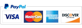visa, amex, mastercard, paypal for payment